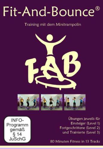 Video: Fitnesstraining auf dem Minitrampolin - DVD