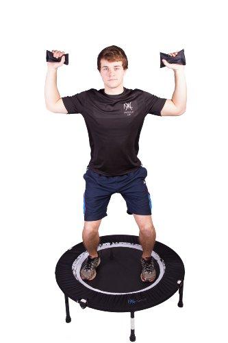 Maximus Pro Rebounder Fitnessübung